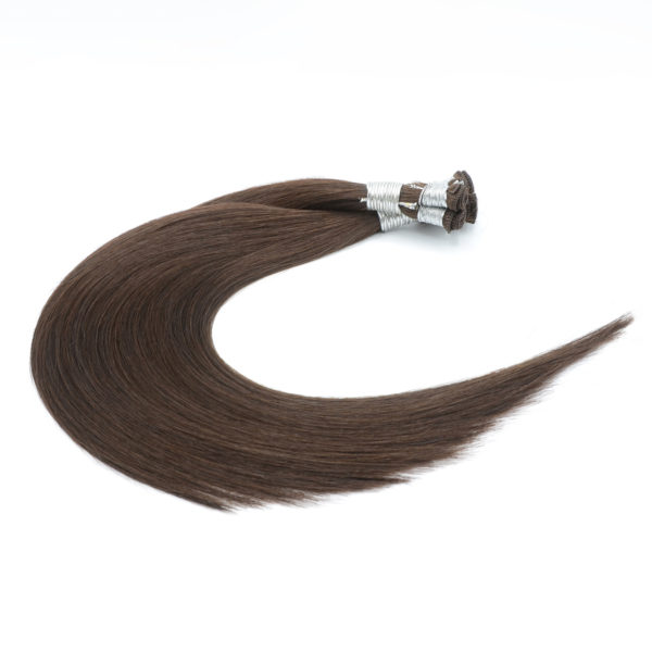 Brown Hand-Tied Weft Hair Extensions
