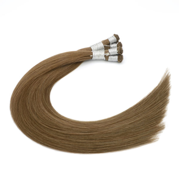Blonde Balayage Hand-Tied Weft Hair Extensions