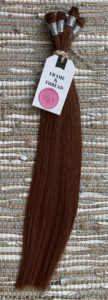 Red Hand-Tied Weft Hair Extensions