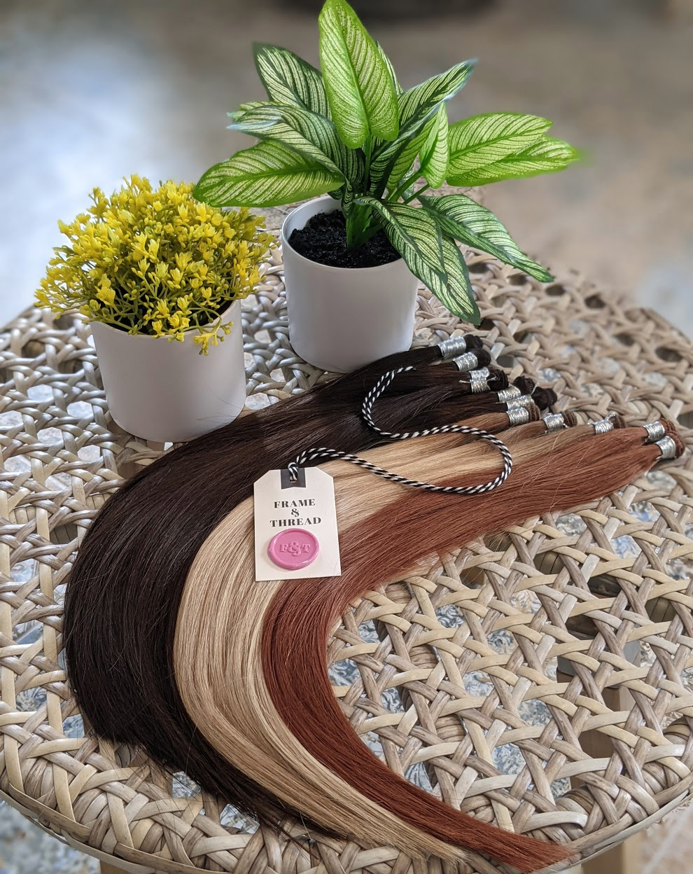 Hand-Tied Weft Hair Extensions Sold Individually