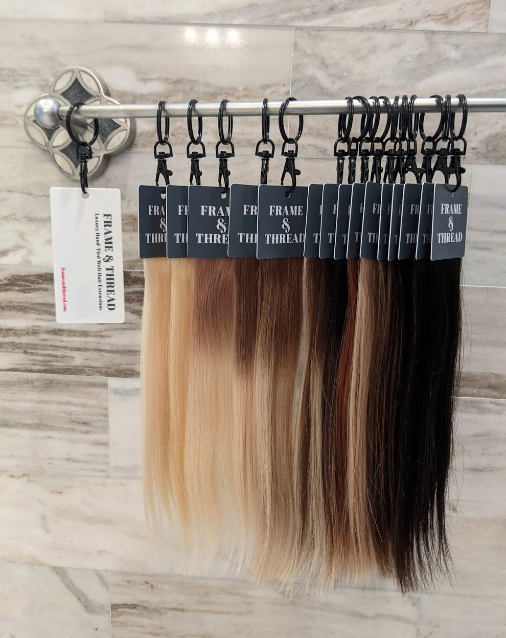 Hand-Tied Weft Hair Extensions Popular Length